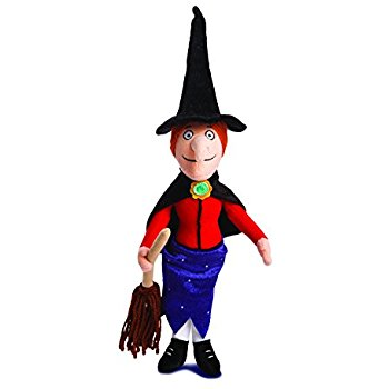 350x350 15.5 Room On The Broom Witch With Broom Soft Toy