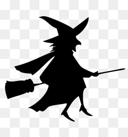 260x279 Witch Riding A Broom Png Images Vectors And Psd Files Free