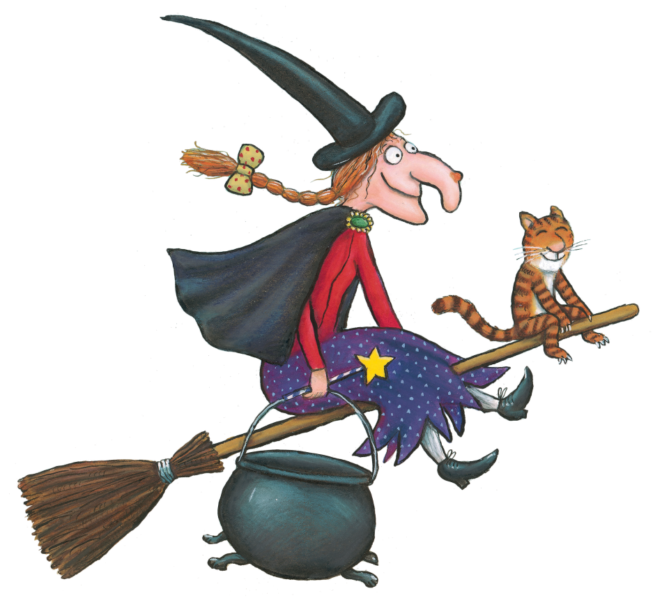 960x880 Axel Scheffler's Official Website Room On The Broom