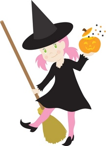 217x300 Witch Clipart Image