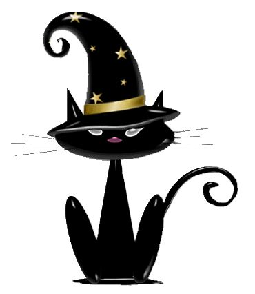 370x426 Witch Cat Clipart, Explore Pictures