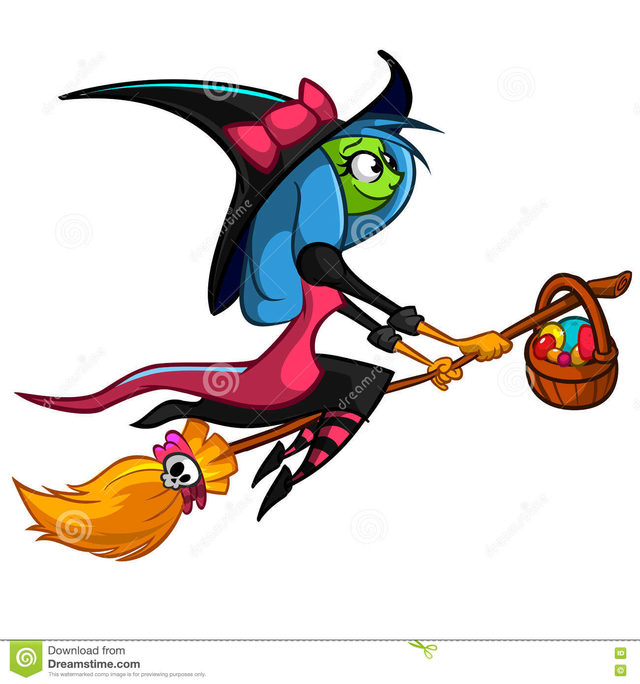 1300x1390 Witch Clipart Her Broom