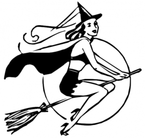 300x285 Broomstick Clip Art Download