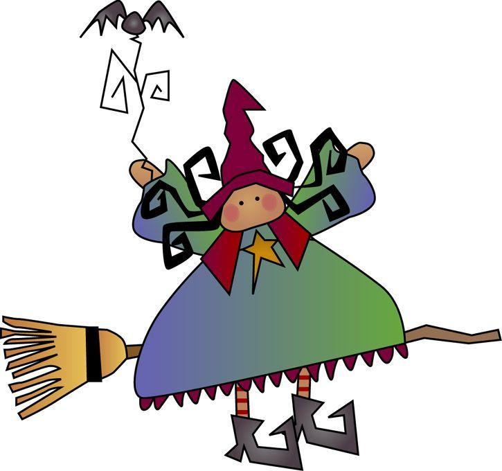 725x680 Witch Clipart Friendly Witch