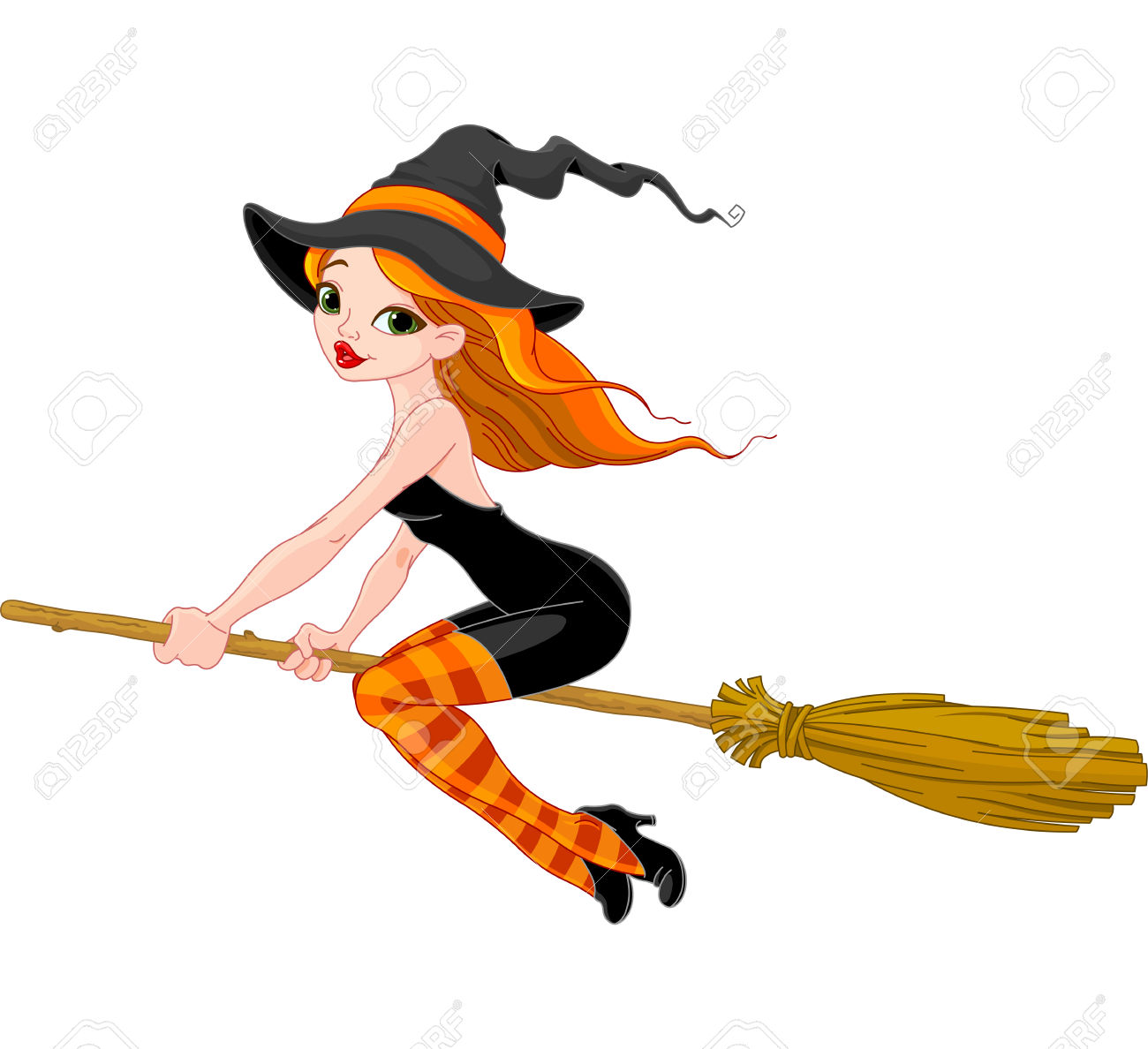 1300x1188 Witchcraft Clipart Witch Broom