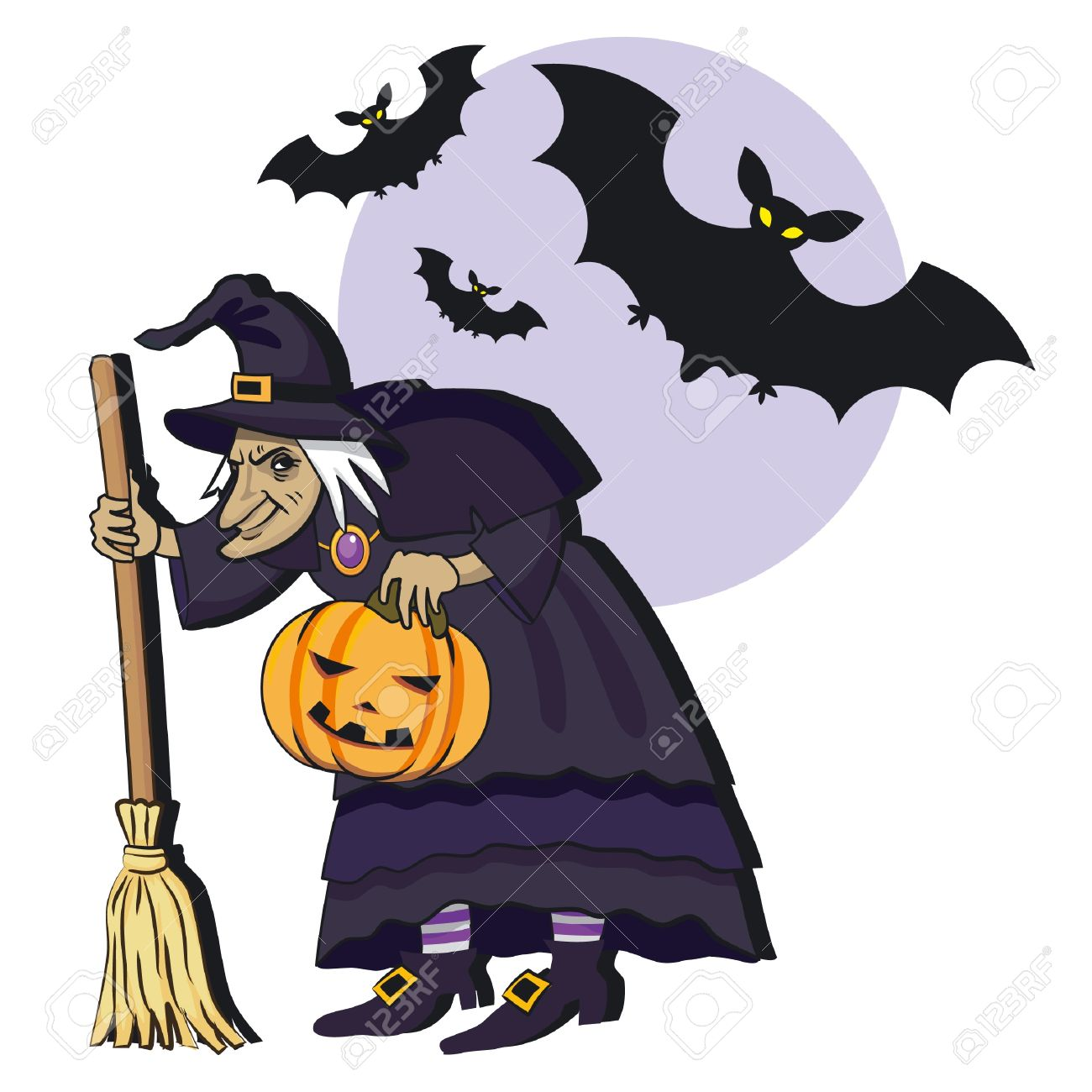 1300x1300 Old Witch Clipart