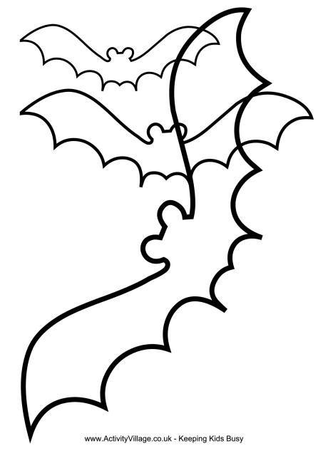 460x650 The Best Bat Template Ideas
