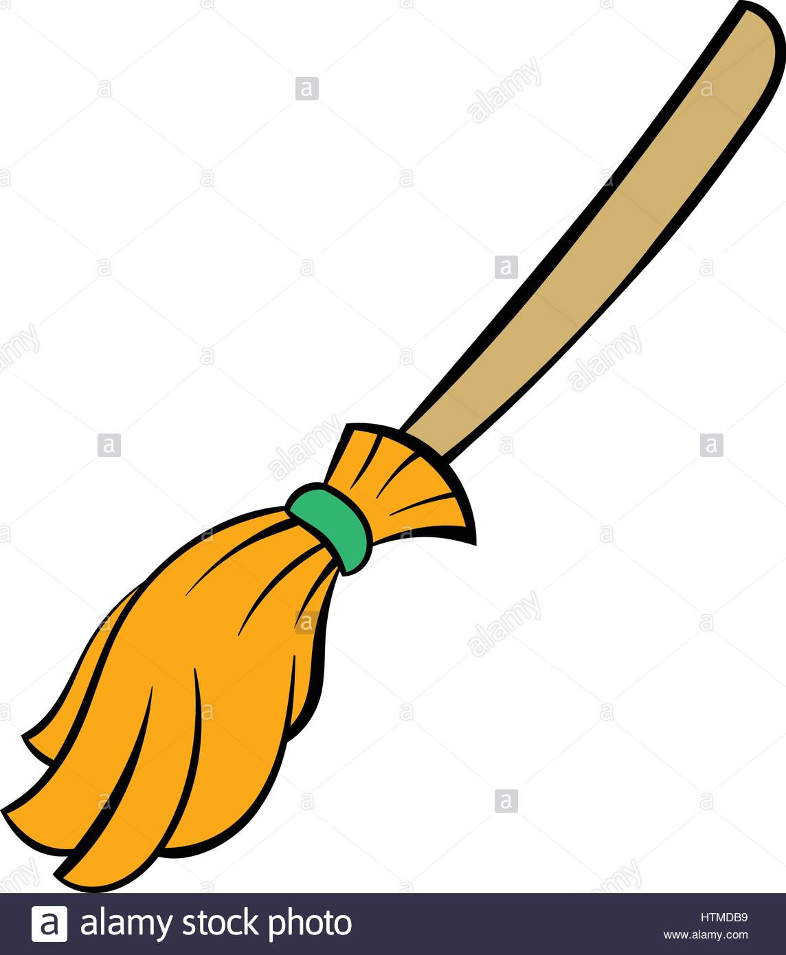 1144x1390 Halloween Witches Broomstick, Witches Broom Illustration Vector