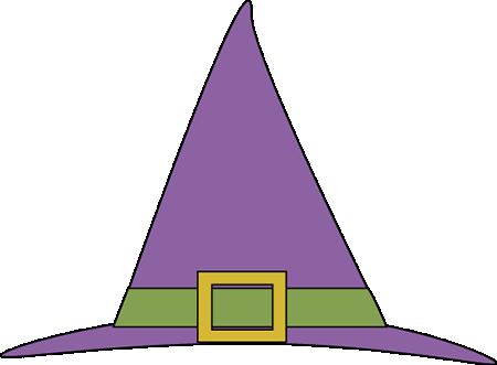 450x331 Purple Witches Hat Clip Art