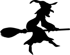 300x236 Witch Clipart Image