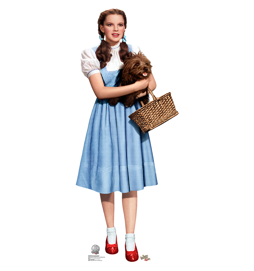 1000x1067 Dorothy Amp Toto, Wizard Of Oz Cardboard Cutout Life Size Standup