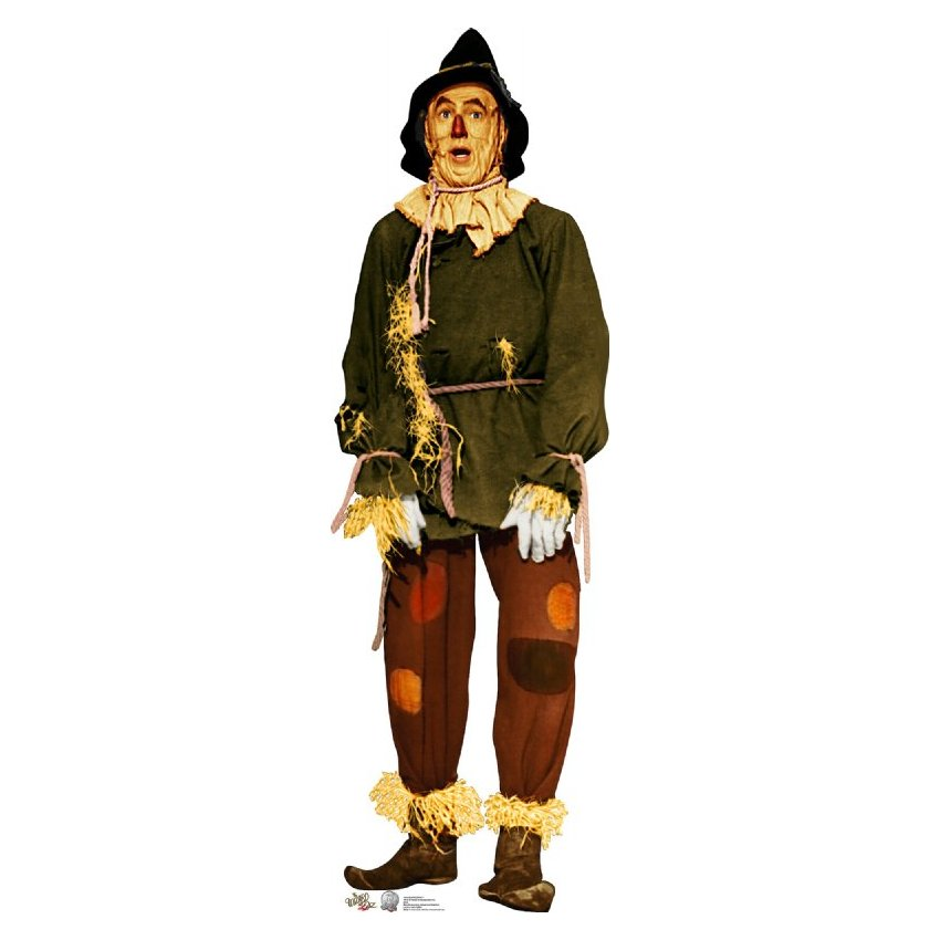 850x850 Of Oz Scarecrow Lifesized Standup
