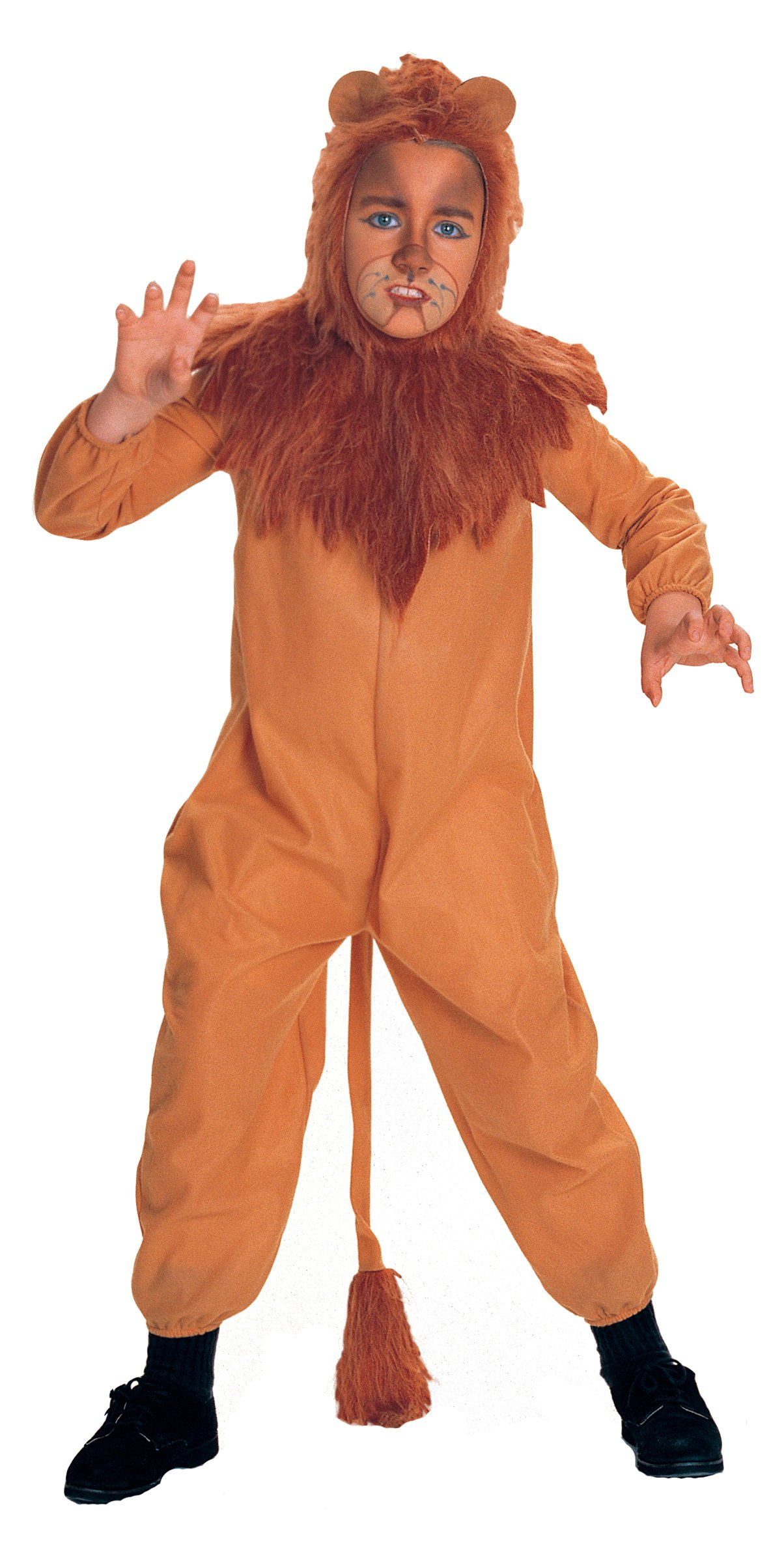 1204x2400 The Wizard Of Oz Cowardly Lion Child Costume