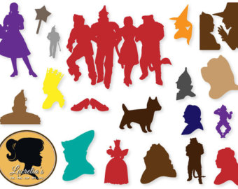 340x270 Wizard Of Oz Clipart Silhouette