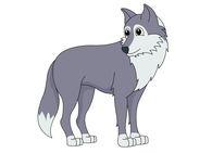 195x141 Wolf Clip Art