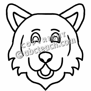 300x300 Wolf Clip Art Black And Clipart Panda