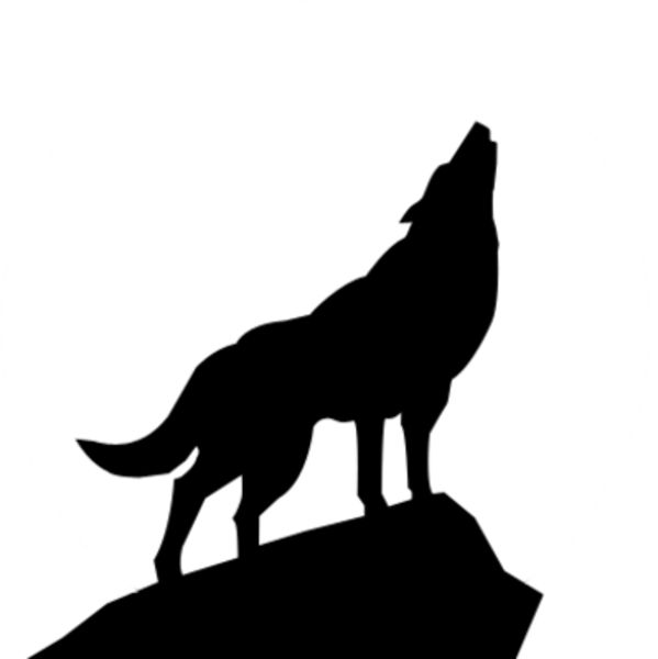 599x600 Best 25+ Wolf clipart ideas Silhouettes, Search for