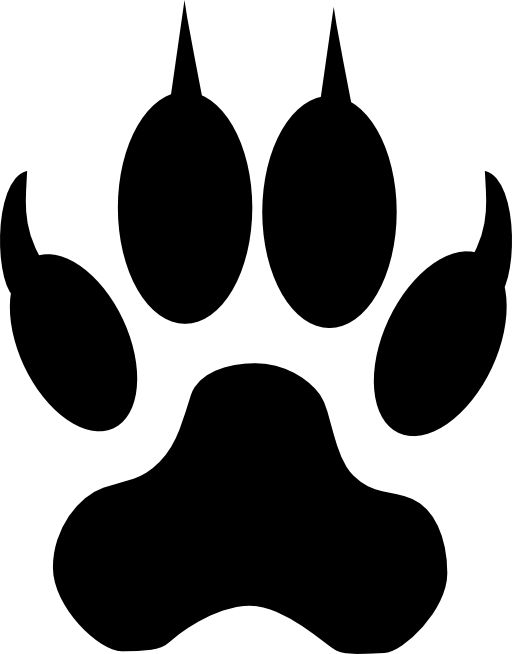 512x654 Free Wolf Clipart 2