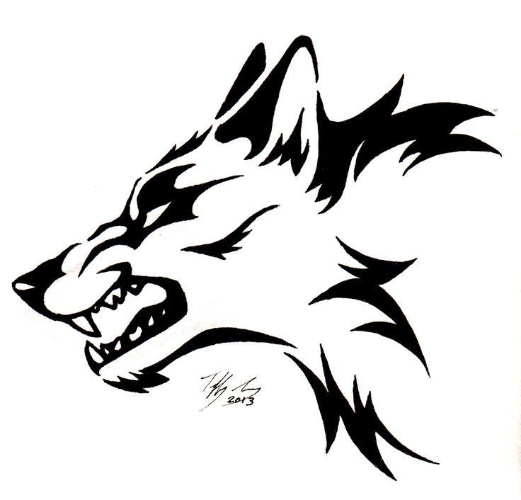 736x706 White Wolf Clipart Stencil