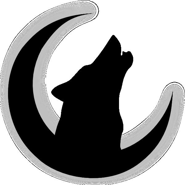 600x599 Wolf Silhouette Clip Art