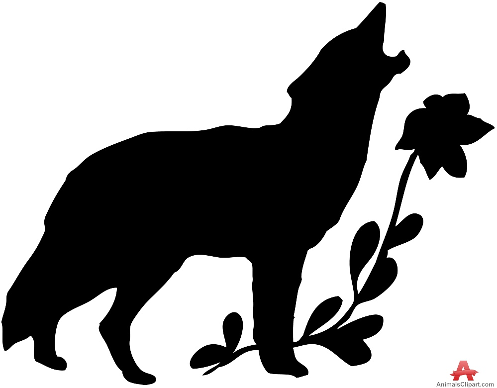 999x780 Cartoon Wolf Howling Free Download Clip Art
