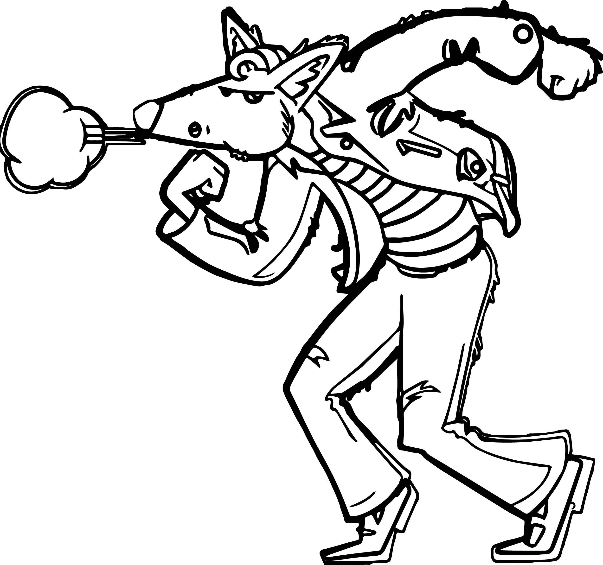 2506x2349 Big Bad Wolf Coloring Page Wecoloringpage