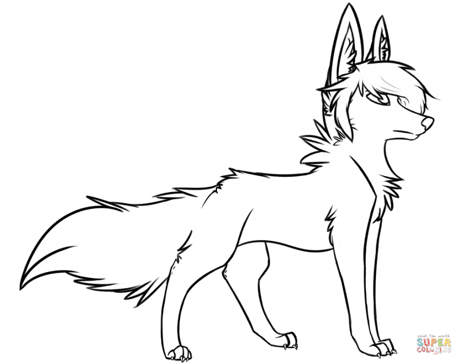 945x744 Download Coloring Pages. Coloring Pages Of Wolves Coloring Pages