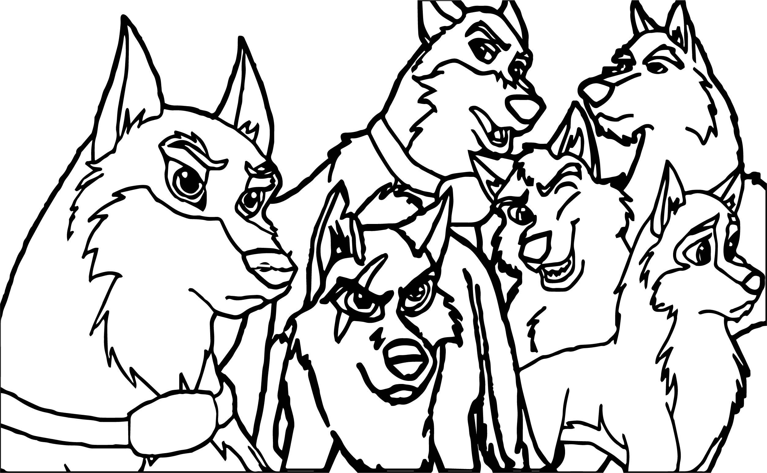 2507x1546 Rise Of The Wolf Characters My Balto Wolf Coloring Page