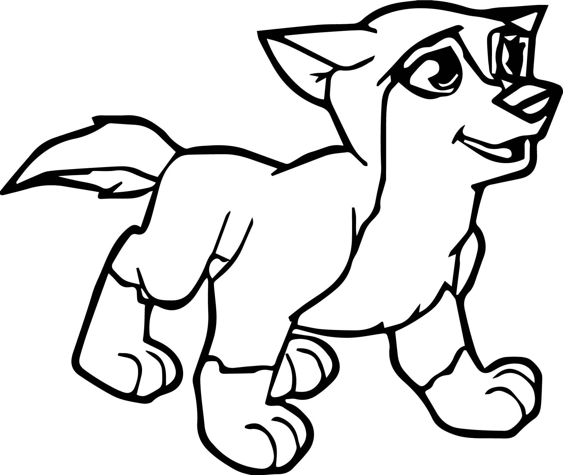 1839x1553 Young Alpha And Omega Wolf Coloring Page Wecoloringpage