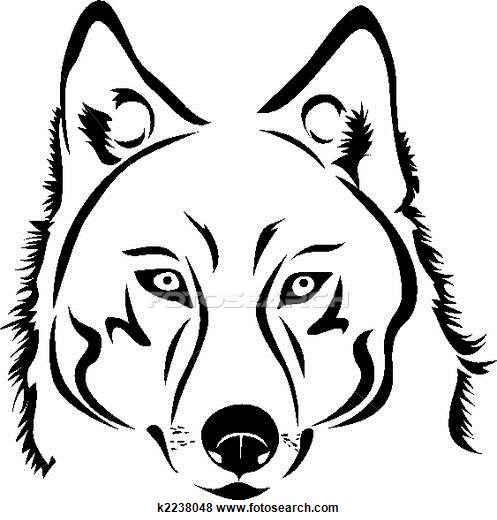 497x520 Wolf Stock Illustration Images. 1339 Wolf Illustrations Available
