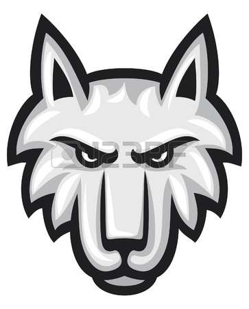 363x450 Wolf Clipart Angry Wolf