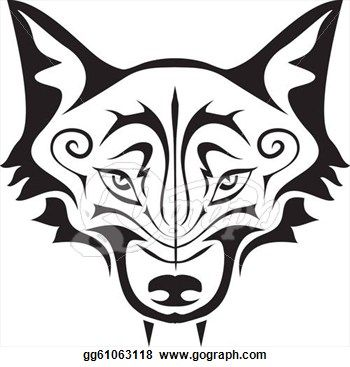 350x367 Wolf Clipart Wolf Face