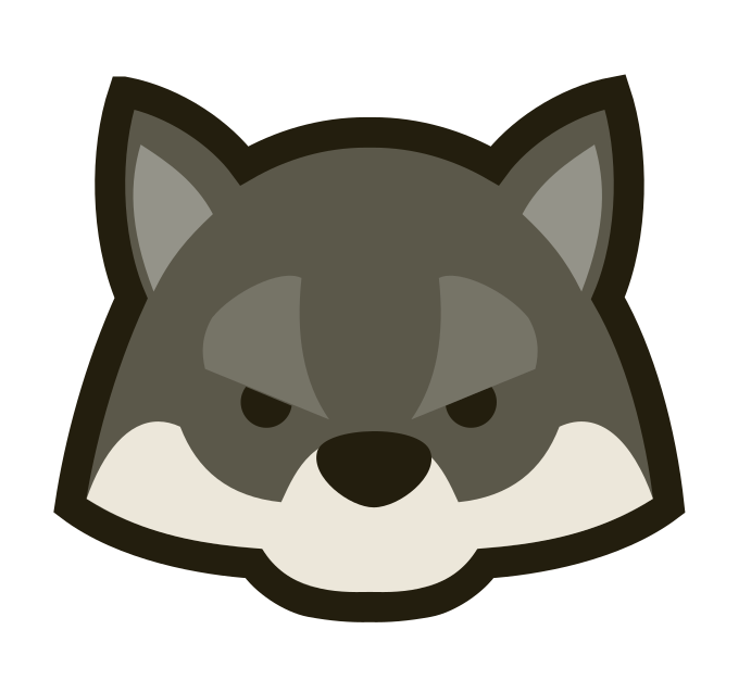 Wolf Face Clipart | Free download on ClipArtMag