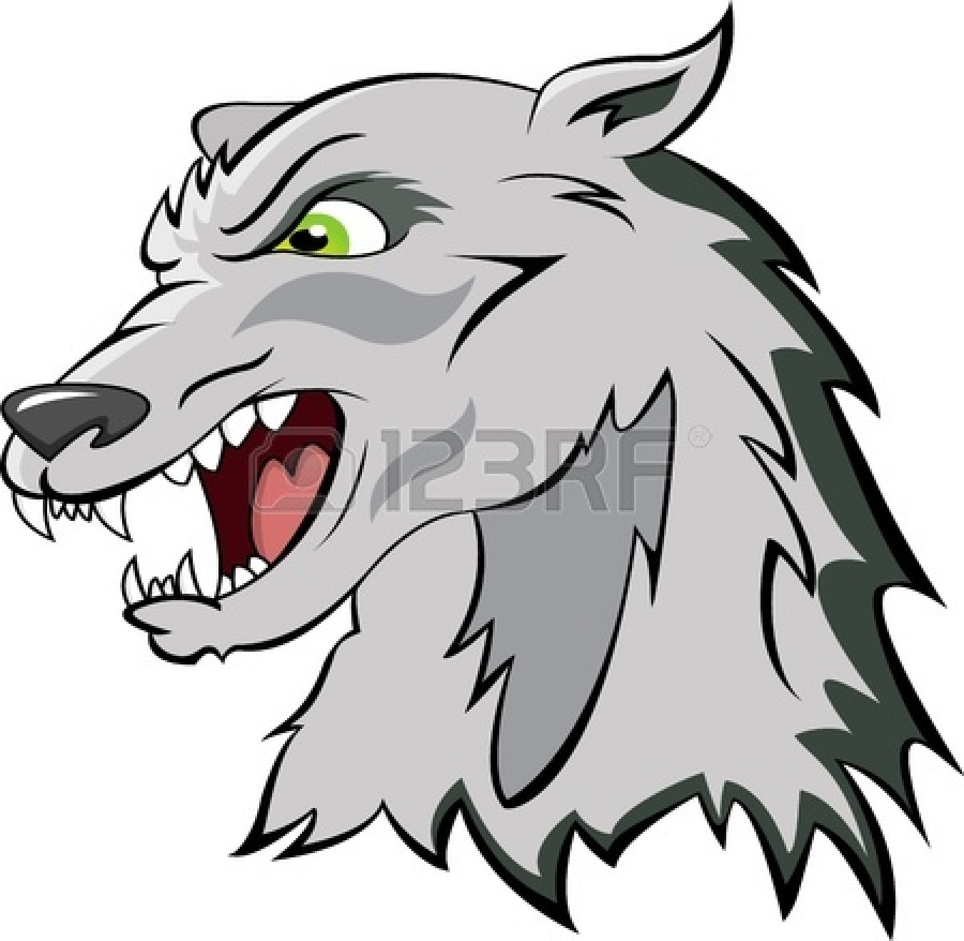 1350x1317 Big Bad Wolf Clipart 2226920
