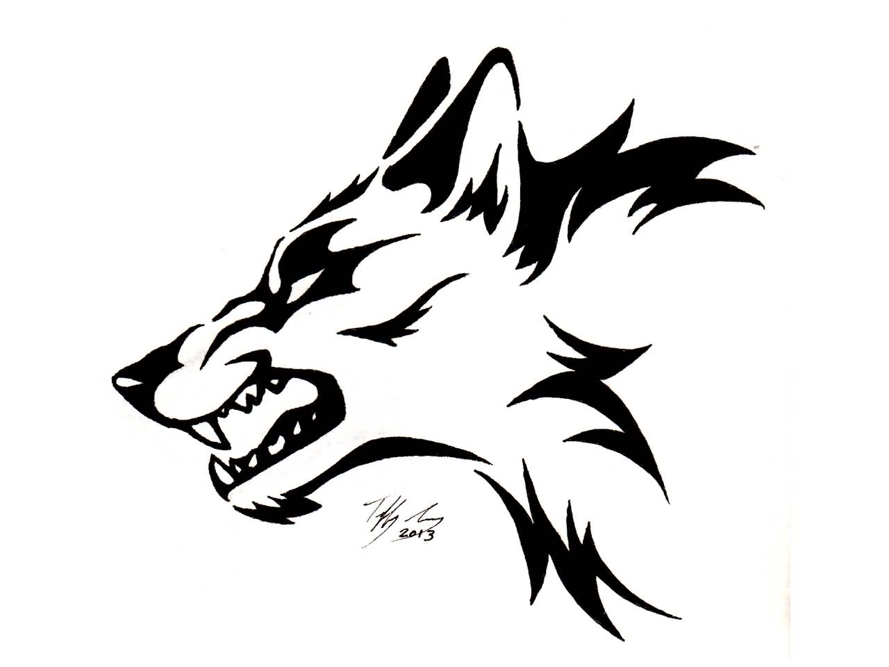 1280x960 Collection Of Wolf Head Tattoo