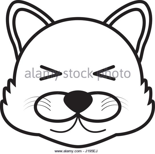 544x540 Wolf Face Animal Outline Stock Photos Amp Wolf Face Animal Outline