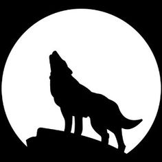 236x236 Howling Wolf Silhouette Psd Clip Art Inspirations For Art Quilts