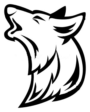 304x380 Wolf Howling Howling Wolf Head Clipart Clipartfest