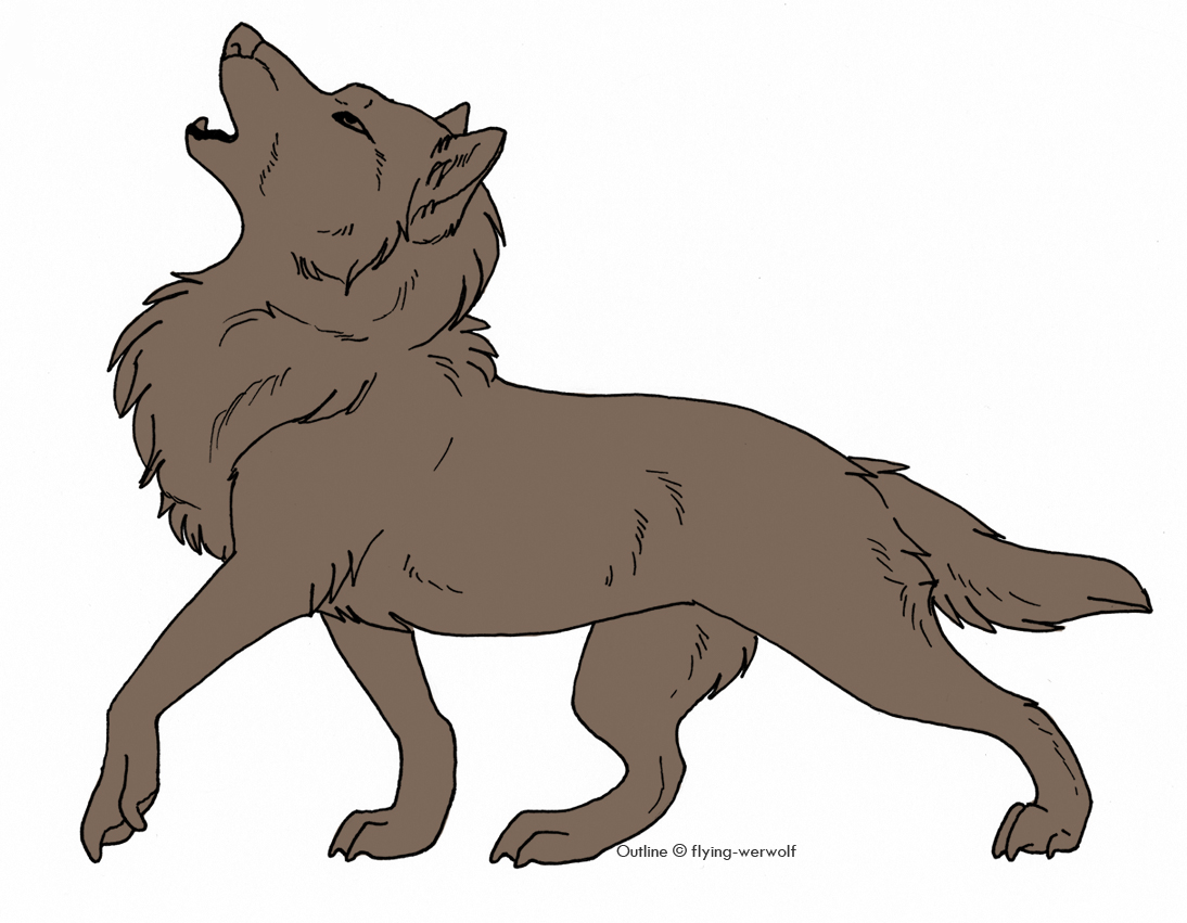 Wolf Outline Free Download On Clipartmag