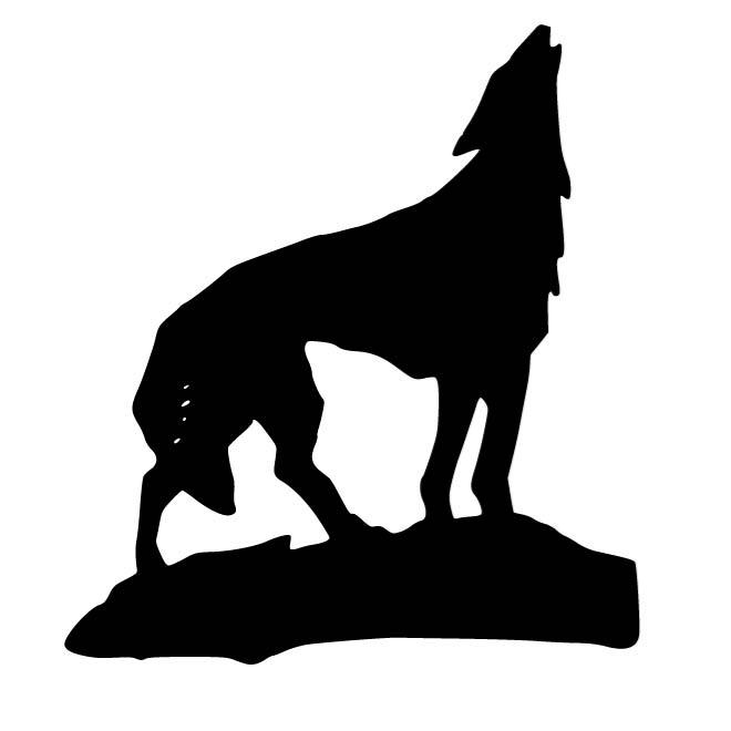 660x660 Wolf Outline Image