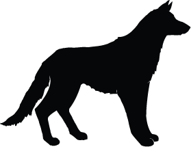 279x215 Wolf Silhouette Silhouette Of Wolf
