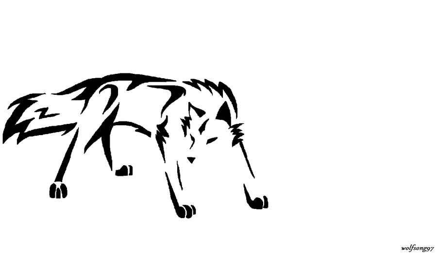 900x527 Wolf Tattoo Design 2 By Wolfsong97