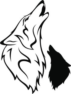235x308 Denise Well Wolf Tattoo Images Wolf Outline Drawing Wallpaper