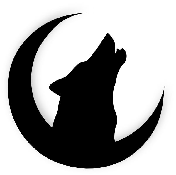 600x599 The Best Wolf Silhouette Ideas Wolf Artwork