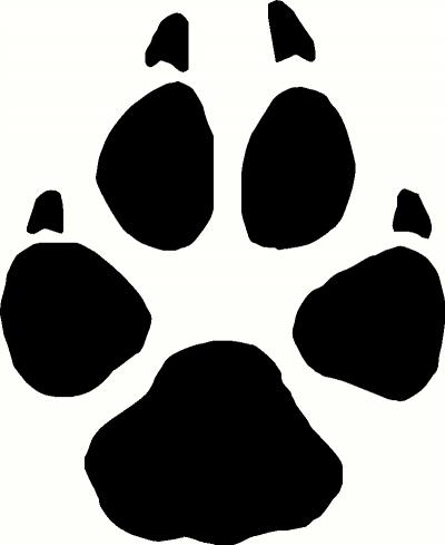 400x489 Wolf Paw Print Clip Art Many Interesting Cliparts