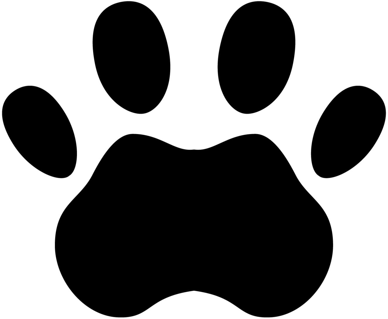 1322x1085 Dog Paw Prints Wolf Paw Print Clipart Clipartxtras