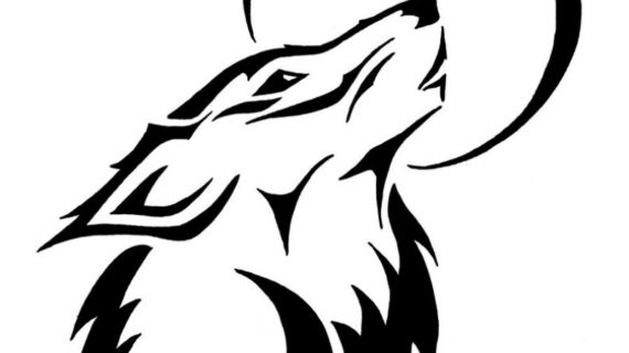 570x320 How To Draw A Very Simple Wolf Images
