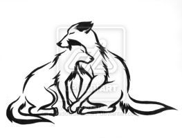 263x200 50 Best 2 In Love Wolf Tattoos Images At Home, Draw