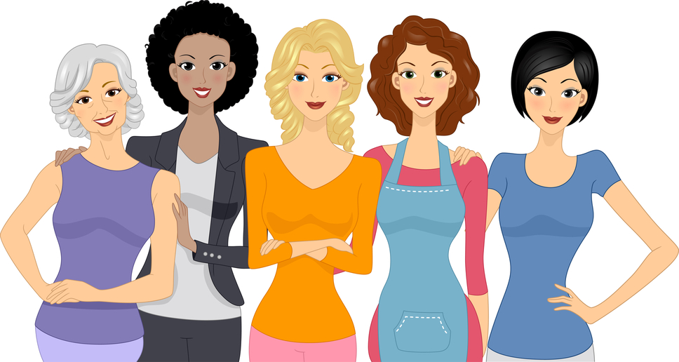 968x516 Free Clipart Of Christian Woman