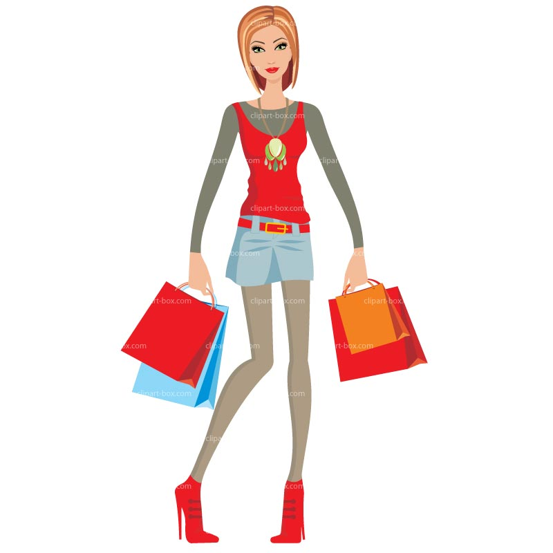 800x800 Woman Shopping Clipart Free Download Clip Art